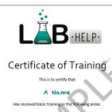 On-site bench-level training from LABHelp
